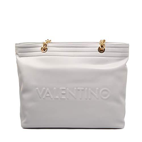 Mario Valentino Jedi Shopper tas 35 cm, Ghiaccio (wit) - VBS42801-185