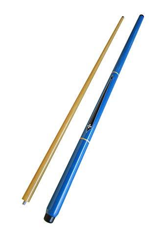 Taco de Sinuca Modelo Cruz de Malta (Azul)