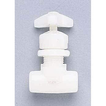 """GF Signet 155.522.554 PVDF Needle Valve, 1/4"""" NPT(F), with PTFE from COLE-PARMER"""