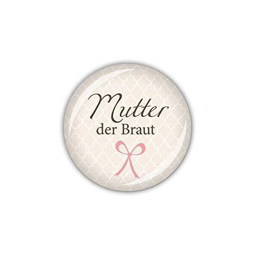 lijelove® Button 25mm Ø Darling Mutter der Braut (Art. 04-01R0)