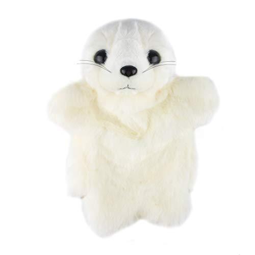 Larcele Niedlichen Plüsch Handpuppe weichen Stofftier Spielzeug (SO-28 Seelöwe)