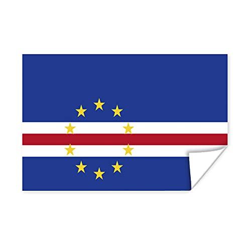 Poster - Flagge Kap Verde - 180x120 cm
