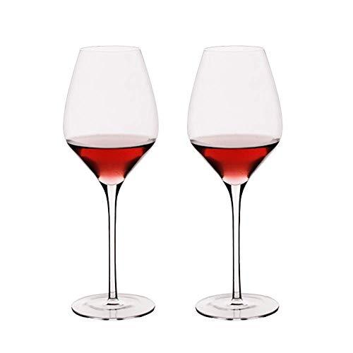 G.TZ-Wine Glass wijnglas/rode of witte wijnglazen, set van 4, kristallen bekers - champagneglazen, 190 ml, 100% loodvrij