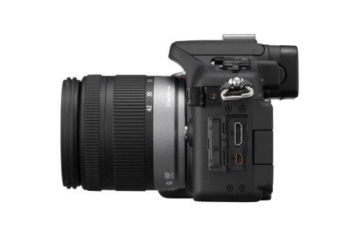 Panasonic Lumix DMC-G2KEG-K Systemkamera (12 Megapixel, 7,5 cm (3 Zoll) Touchscreen, LiveView, bildstabilisiert) Gehäuse schwarz inkl. Lumix G Vario 14-42mm Objektiv