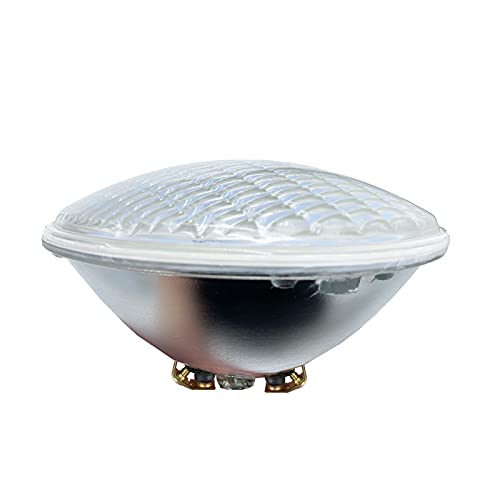 Monsing Luz blanca fría 6000 K PAR56 LED 36 W iluminación de piscina empotrada subacuática equivalente a 300 W foco halógeno DC/AC 12 V (blanco frío 12 V)
