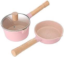 Baby Food Supplement pan Cute Maifan Stone Pan Children Milk Pan Instant Noodle pan Casserole Set Happy Life