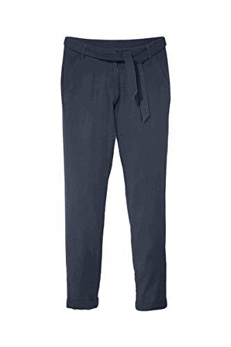 Esmara Leinen Hose, sommerlich Leichter Stil Blau 38