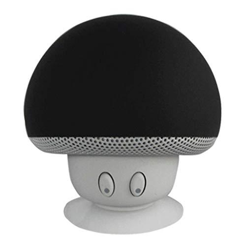 JUNESUN Mini drahtloser Bluetooth Lautsprecher MP3 Musik Spieler mit Mic wasserdichter beweglicher Stereo Bluetooth Pilz Lautsprecher für Telefon PC Z2