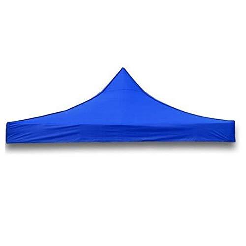 DACHENGJIN Suministros hortícolas 3mx3m Toldos Impermeables for Carpas Pop Up Carpa for jardín Gazebo Canopy Marquesina for Exteriores Market Shade (Rojo) (Color : Blue)