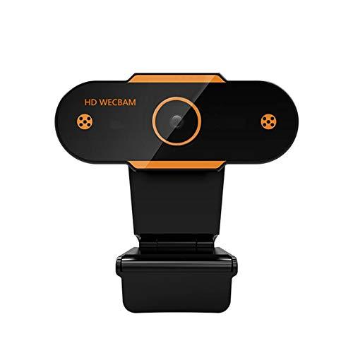 Yeyubh 1080p CMOS HD CMOS USB 2.0 Cámara Web para Video en Tiempo Real Conferencia en línea Enseñanza Reducción de Ruido Micrófono PC Cámara Web cámara Web (Color : Without Cover)