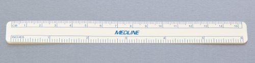 Medline DYNJSM01 Regular Tip Surgical Skin Markers with Ruler, Sterile (Pack of 50)