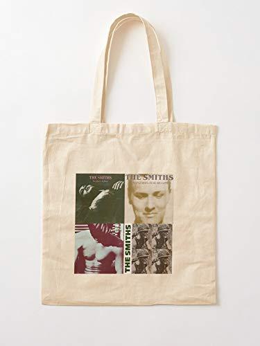 Queen Albums The Dead Man Morissey Charming Smiths Happy is Music Guitar   Einkaufstaschen aus Segeltuch mit Griffen, Einkaufstaschen aus robuster Baumwolle