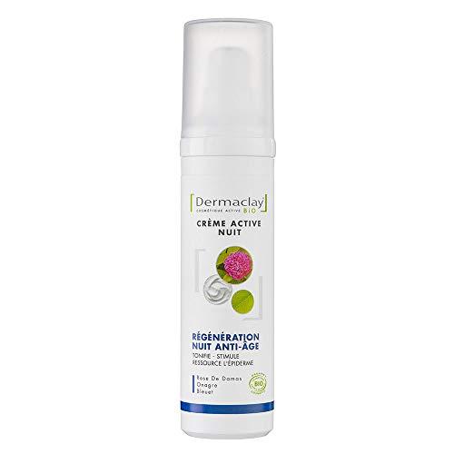 Crème de nuit intensive relaxante-régénérante Bio Dermaclay