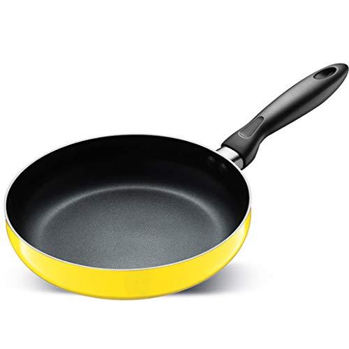 WYJBD Wok - Pan sartén antiadherente Wok multifunción estufa de gas olla de cocina panqueques universales