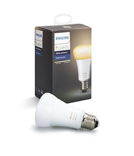 Philips Hue ホワイトグラデーション シングルランプ(電球色~昼光色) | E26スマートLEDライト1個 | 9290012...
