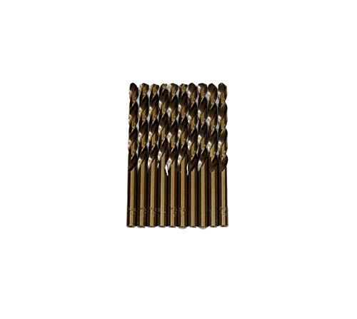 Broca para metal HSS DIN338 M-35 de 6,5mm (paquete de 10 unidades)