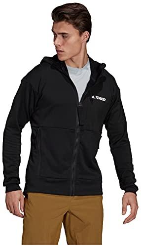 Adidas Terrex Flooce Hooded Jacket - Men's Black XX-Large