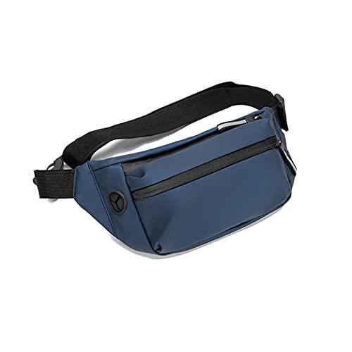 Yokbeer Marsupio Sportivo Cintura da Corsa Leggera Marsupio Elastico Design a Griglia Traspirante con Foro per Cuffie Impermeabile Fit Smartphone sotto I 6 Pollici (Color : Blue(2PSC))