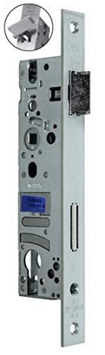 BKS Rohrrahmenschloss/Rahmenschloß 25/92/8, Stulp: 24 x 245mm, DIN Links/Rechts (Umstellbar) incl. SN Montageset