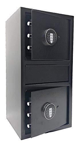 Southeastern F2614EEV Double Door Money Drop Depository Safe with Digital Lock w/Back up Key