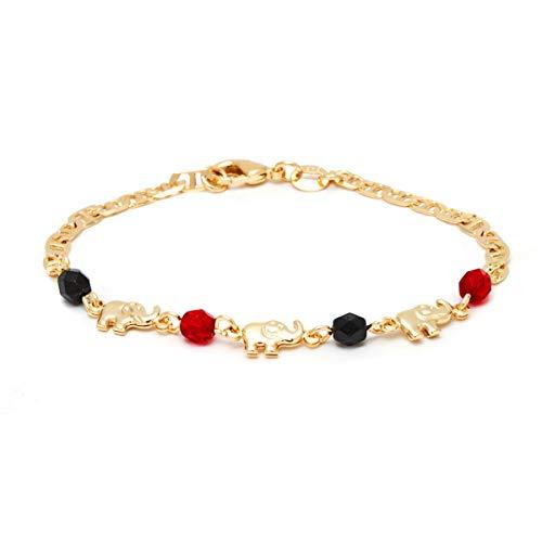 Barzel 18K Gold Plated Elephant Bracelets Elephant Gifts For Women...