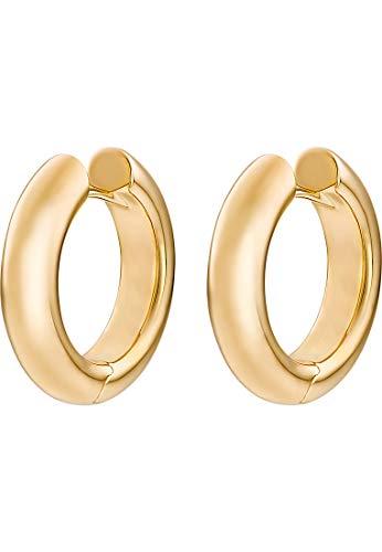 CHRIST Gold Damen-Creolen 585er Gelbgold One Size 87474674