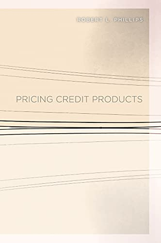 Pricing Credit Products 1st Edition