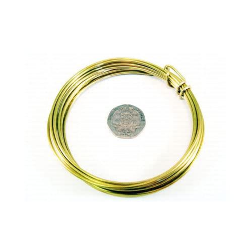 Charming Beads Messing Draht Goldfarben Anti Trüben 10M Rolle 0.6mm Dicke