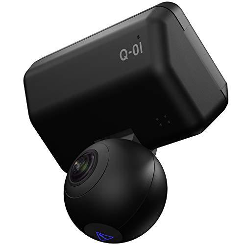 ユピテル 全方位ドライブレコーダー Q-01dP 前後上下左右 360度+360度(720度)記録 GPS 衝撃センサー 3年保...