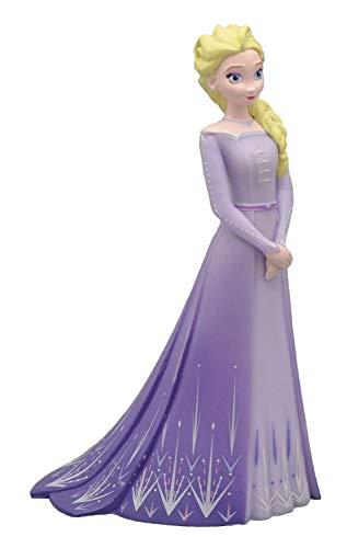 Bullyland 13510 - Spielfigur, Disney Die Eiskönigin - Frozen, Prinzessin Elsa, ca. 10 cm, ideal als Torten-Figur, detailgetreu, PVC-frei, tolles Geschenk für Kinder zum fantasievollen Spielen