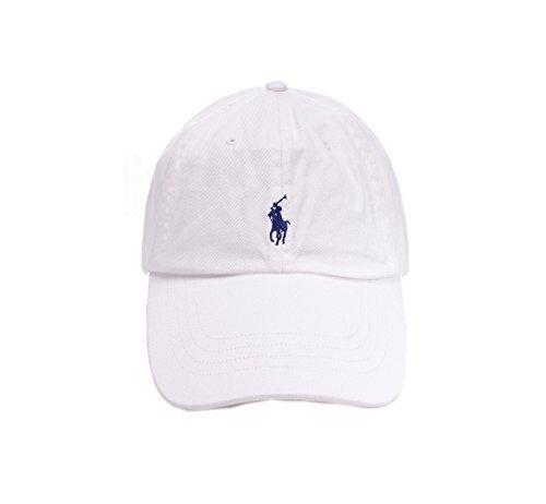 Ralph Lauren - Casquette de Baseball - Homme Blanc Blanc