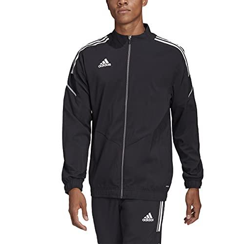 adidas GH7138 CON21 PRE JKT Jacket mens black white M