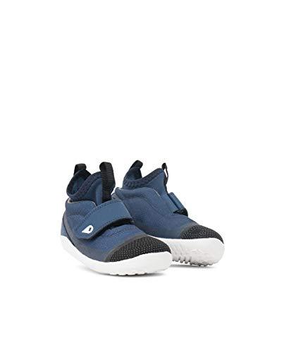 Bobux I-Walk Hi Dimension Sport Shoe Blue - Caminantes - Zapatilla Deportiva de poliéster, Forro de algodón (25 EU)