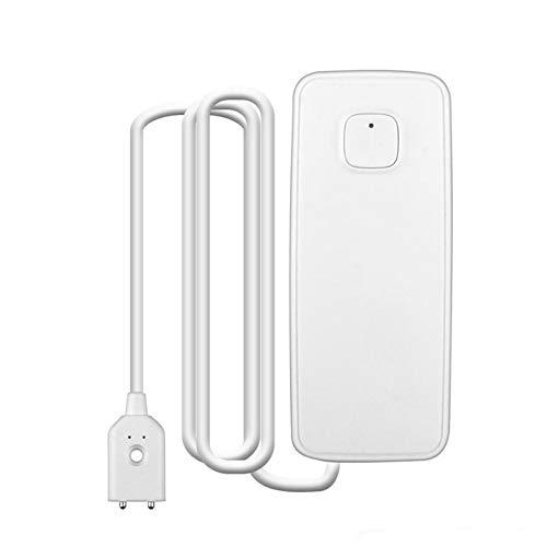 GuDoQi WiFi Wassermelder WLAN Wasseralarm Kabellos Smart Home Wassersensor mit Smartphone APP Benachrichtigung Warnungen Unterstützt IFTTT Schutz vor Wasserschäden für Küche Bad und Keller