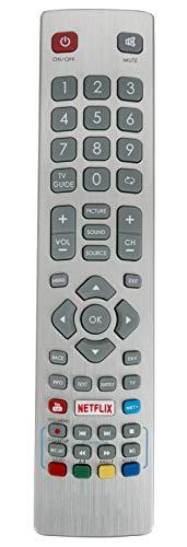 ALLIMITY SHW RMC 0115 Telecomando Sostituito per Sharp Aquos UHD 4K Freeview TV LC-40UI7352E LC-43CFG6002E LC-49CFG6001K LC-50UI7422E LC-40UI7552K LC-43CFG6001K LC-43FG5242E LC-49CFG6001E