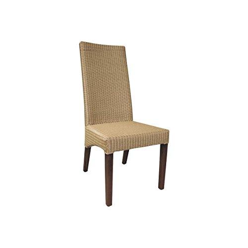 AUBRY GASPARD Chaise en Loom Naturel