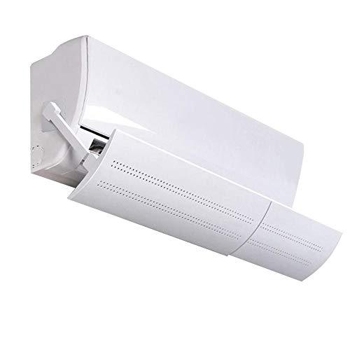 Defletor Ar Condicionado Para Direcionar Vento De Saída Com Regulagem De Ângulo Tamanho 50 a 100CM