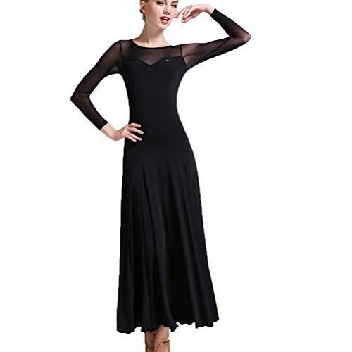 TFF Jurk met lange mouwen voor vrouwen, elegante jurk voor vrouwen, nauwsluitende jurk, rode jurk