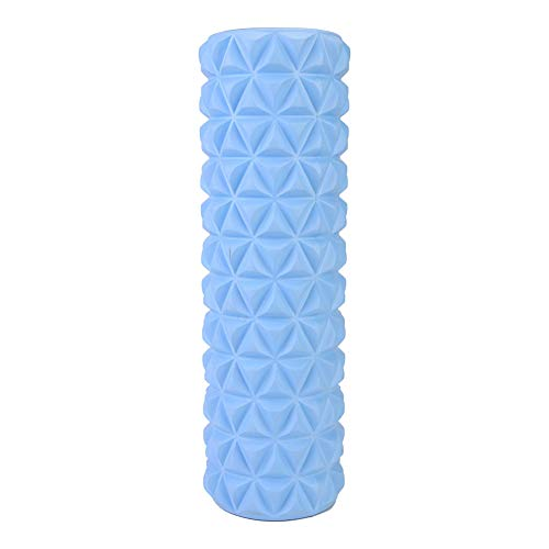 Foam Roller, Rubber Foam Cylinders for Muscle Massages, Deep Tissue and Myofascial Release and Pain Relief, The Best Sports Tool