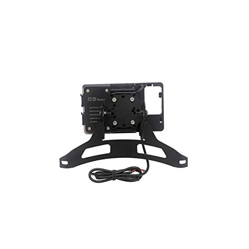 Hjunisshkm Motorcycle Navigation Bracket Handheld GPS Navigator USB Cargador de navegación del teléfono para YA*MA*HA XT1200Z XT 1200 Z 11-16 ahdyj (Color : C)