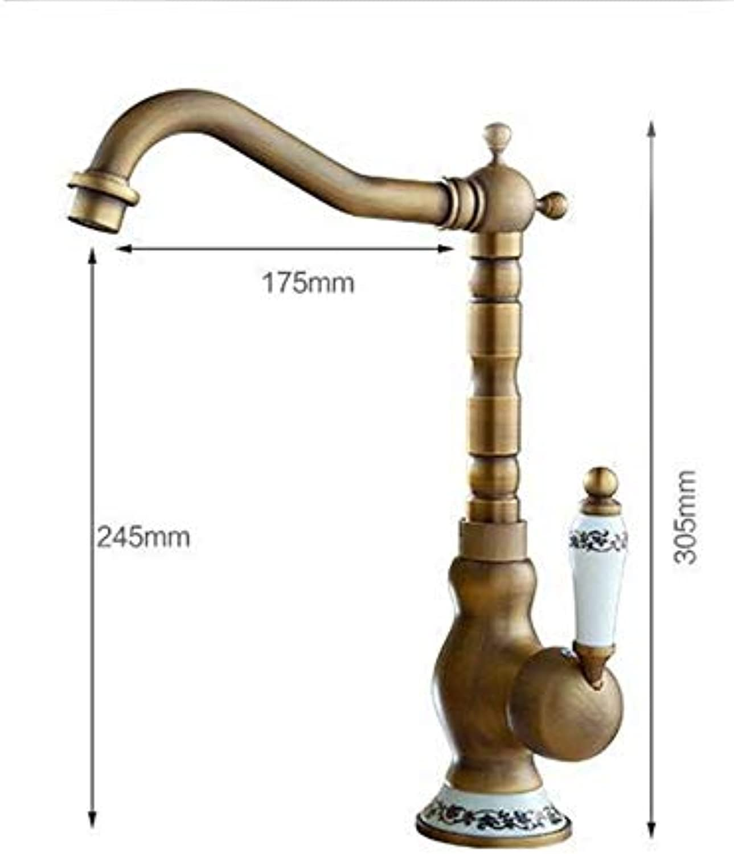 Honcx Wasserhahn Küchenarmatur Hei Und Kalt Becken Wasserhahn Badzubehr