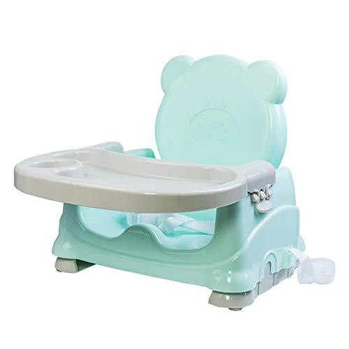 QQXX kinderstoelen, eettafelstoelen, draagbaar, veelzijdig inzetbaar, met katrol verstelbaar voor 0 tot 5 jaar Zhangqiang (kleur: bruin, maat: met wieltjes) ZQANG4959r-2 Zqang4959r-2