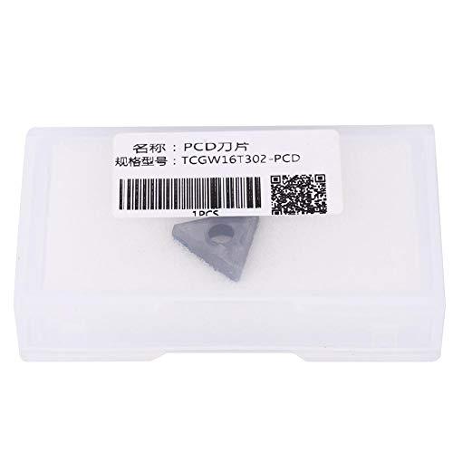 Draaibare inzet, TCGW16T302 TCGW16T304 PCD-draaibare wisselplaat CNC-draaibank CNC-draaibankgereedschap (TCGW16T302 PCD)