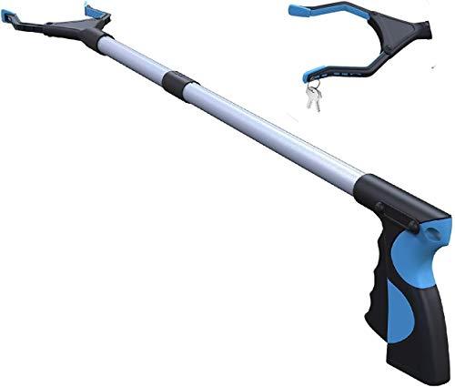 Grabber Reacher Tool,FitPlus Premium Grabber Tool 32 Inch, Grabber Reacher for Elderly, Lightweight Extra Long Handy Trash Claw Grabber