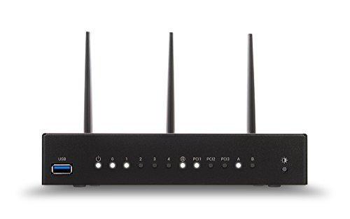Turris Omnia 1 GB Wi-Fi   high Performance, Open Source & WiFi Router/NAS/printserver/Virtual Server, CPU 1.6 GHz dual-core, 5X GLAN, 2X USB VPN