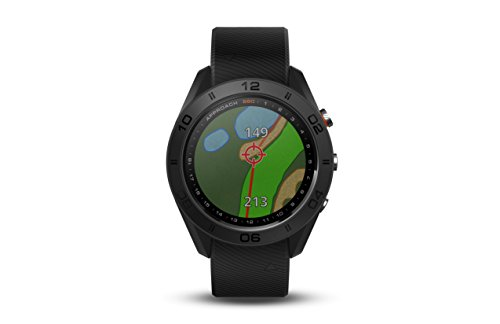 Best Buy! Garmin Approach S60, Premium GPS Golf Watch with Touchscreen Display and Full Color Course...