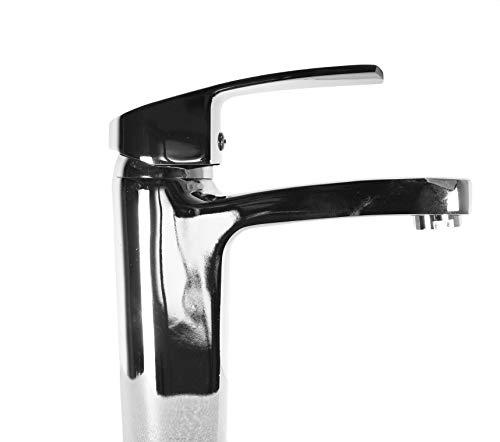 takestop® wastafelarmatuur ESY_52966 met afvoergarnituur voor wastafel wastafel wastafel dubbel gat bidet eengreepsmengkraan