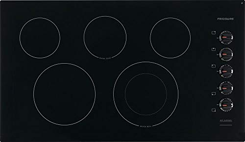 Frigidaire FFEC3625UB 36 Inch Electric Smoothtop Cooktop in Black