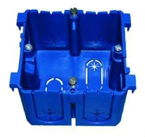 PROTEC.Class PBRED 80 blauw inbouwdoos deksel vergrendeling blauw 3 Stück Geräteeinbaudose