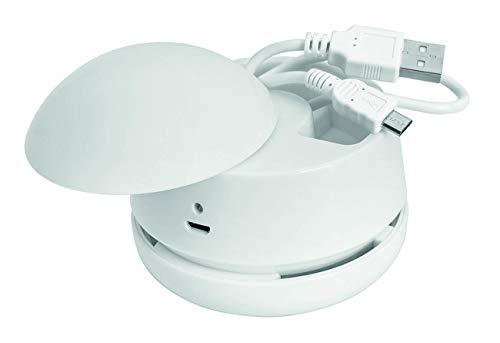 WEDO 20520200 Tischstaubsauger W2D2 wiederaufladbar, inkl. USB Kabel